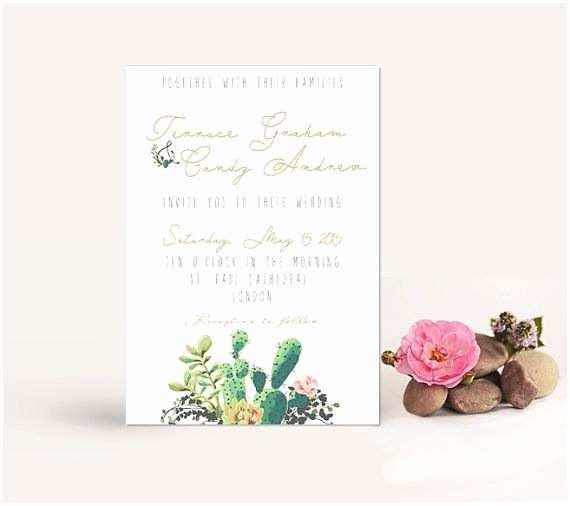 Cactus Wedding Invitations Best 25 Cactus Wedding Ideas On Pinterest