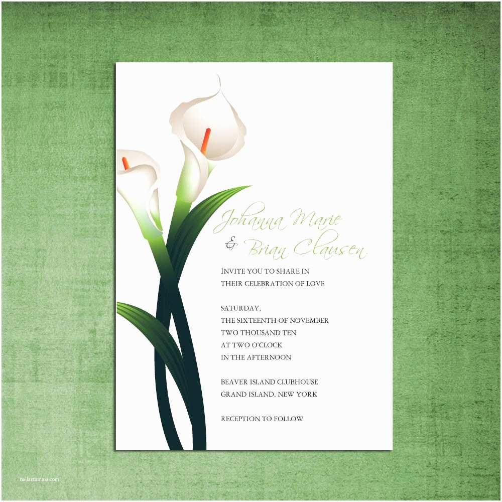 Calla Lily Wedding S Items Similar To Beautiful Calla Lily Wedding