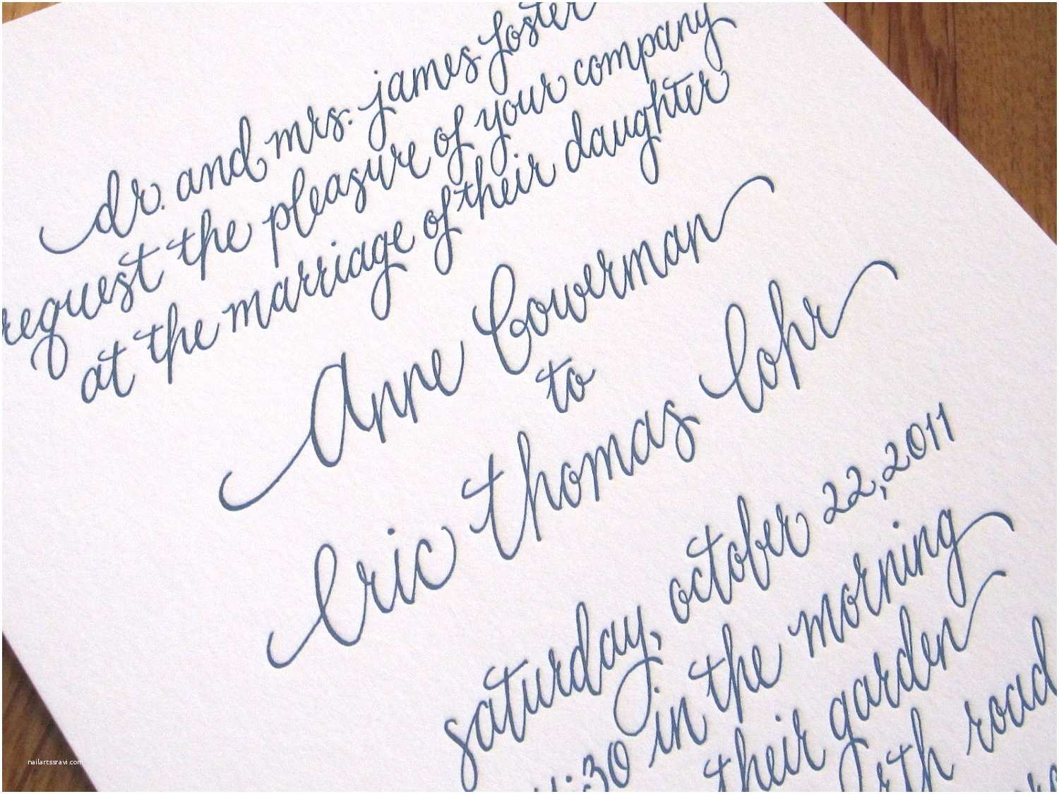 Calligraphy for Wedding Invitations 16 Calligraphy Fonts for Wedding Invitations