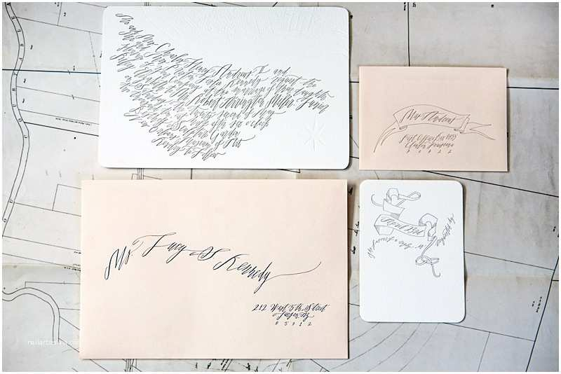 Calligraphy for Wedding Invitations Best Of 2010 Wedding Invitations Calligraphy Blind