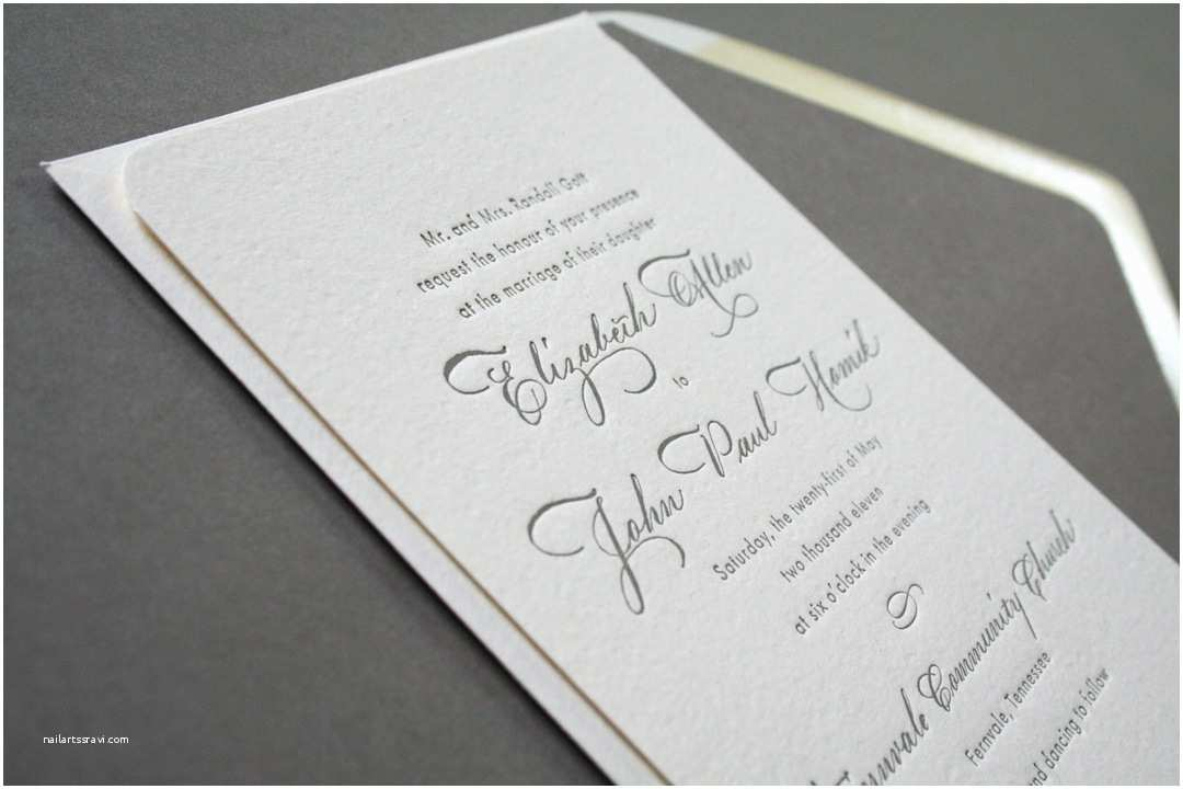 Calligraphy for Wedding Invitations Elizabeth John S Classic Calligraphy Wedding Invitations