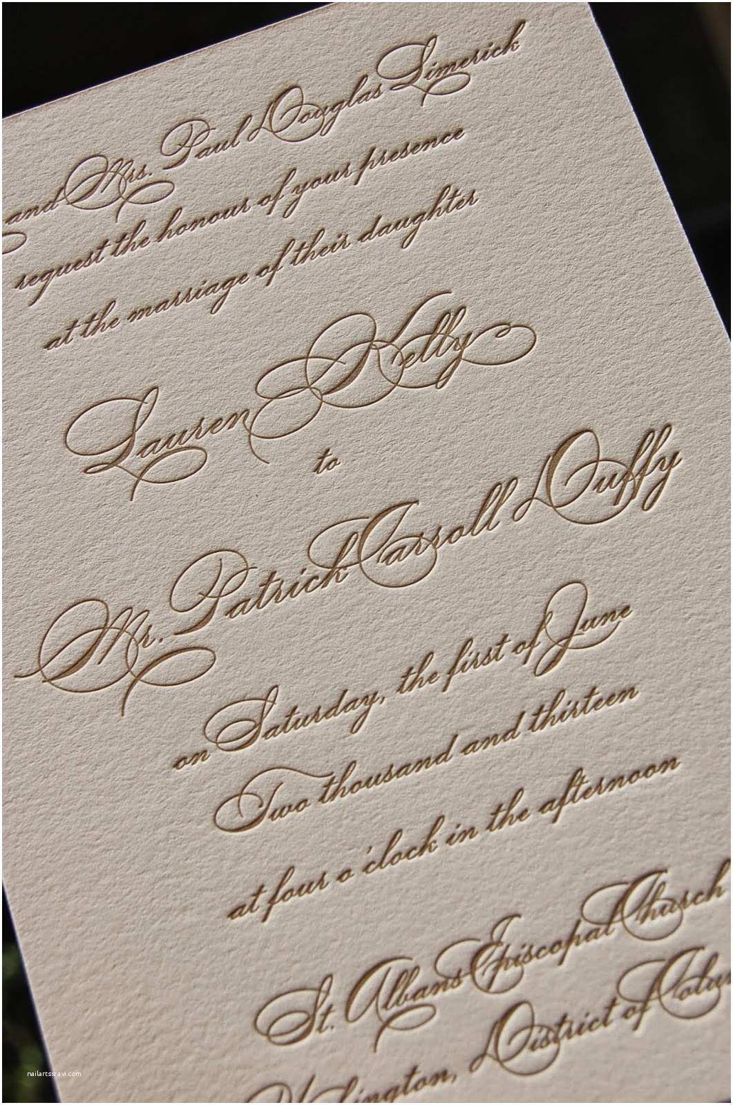 Calligraphy Pen for Wedding Invitations Dancing Pen Calligraphy Letterpress Wedding Invitation