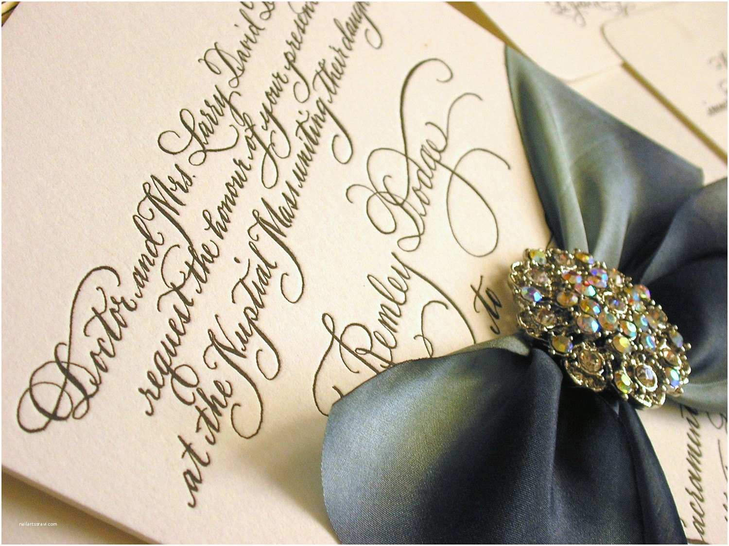 Calligraphy Pen for Wedding Invitations Diy Calligraphy Wedding Invitation Wording to Print Yourself