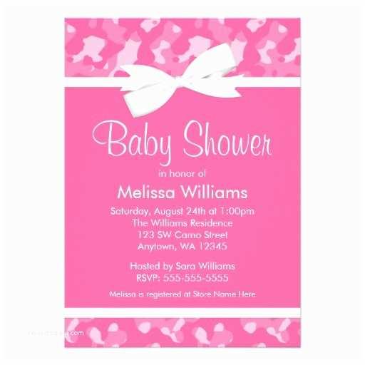 Camo Baby Shower Invitations 71 Pink Camo Baby Shower Invitations Pink Camo Baby