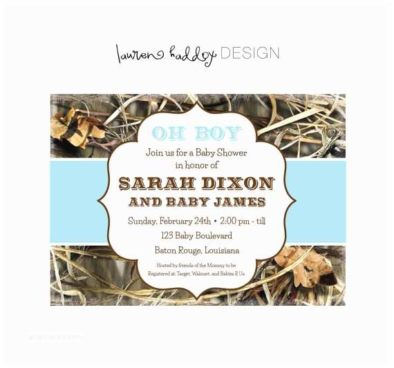 Camo Baby Shower Invitations Unavailable Listing On Etsy