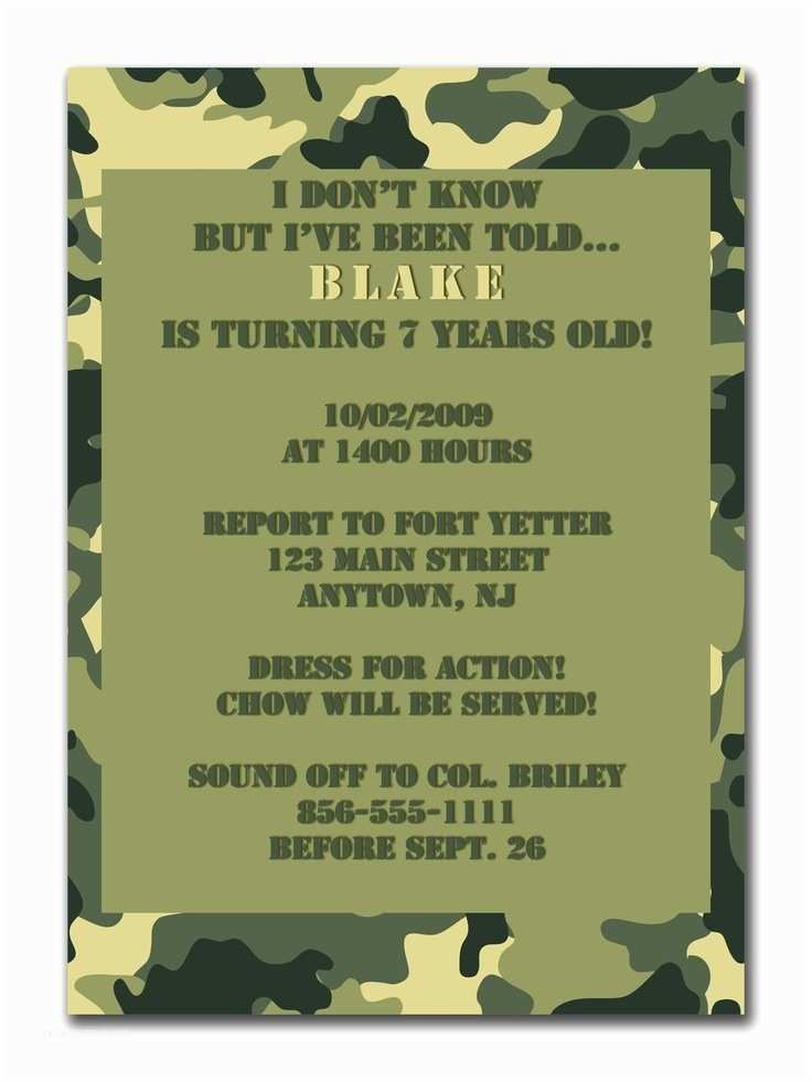 Camo Birthday Invitations 13 Best Party Favors Images On Pinterest