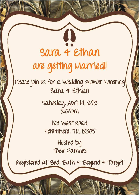 Camo Wedding Invitations Camo Decorations for Weddings