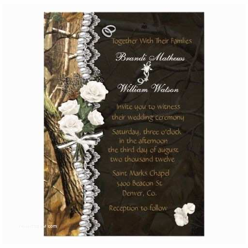 Camo Wedding Invitations Camo Wedding Cakes Mossy Oak