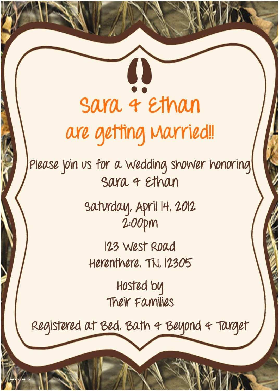 Camo Wedding Invitations Cheap Camo Wedding Shower Invitation