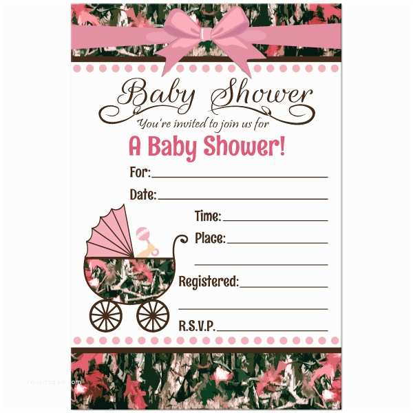 Camouflage Baby Shower Invitations Baby Shower Invitations Free Printable Pink Camo Baby