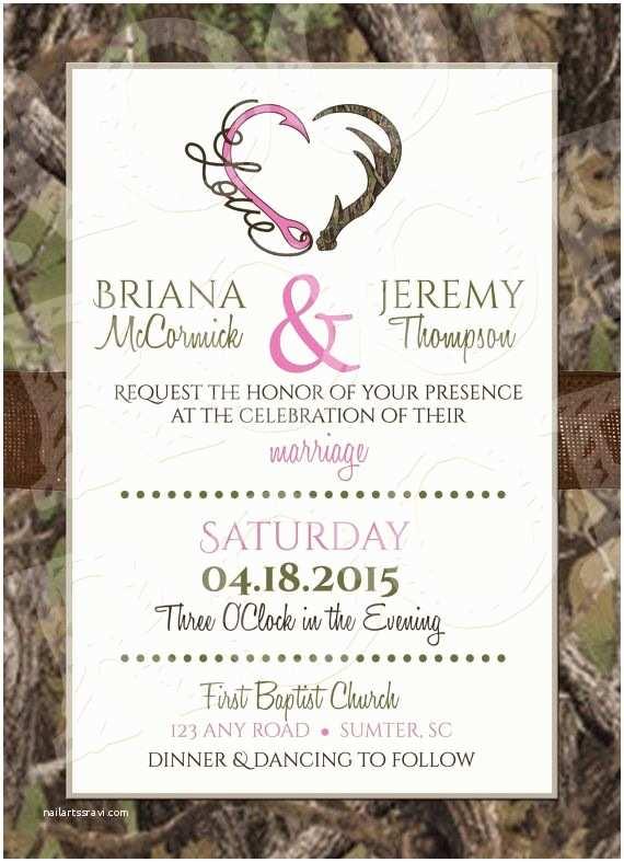 Camouflage Wedding Invitations 17 Best Ideas About Camo Wedding Invitations On