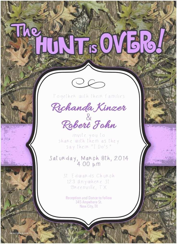 Camouflage Wedding Invitations Camouflage Wedding Invitation Graphic