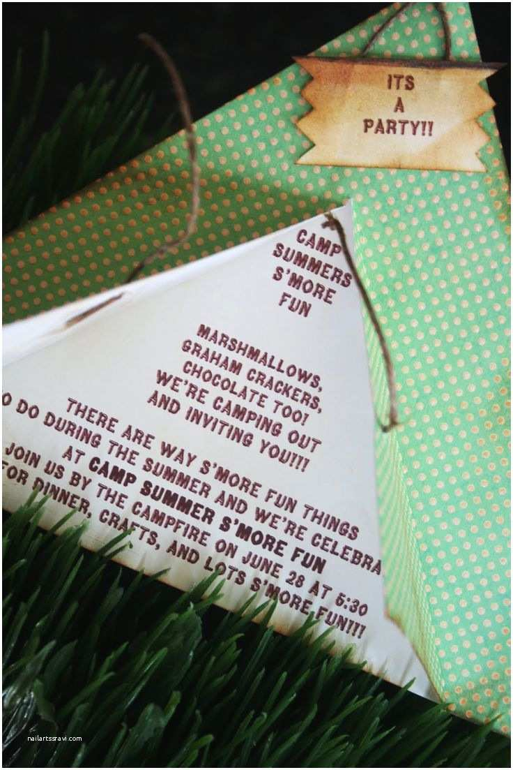Camping Party Invitations 1000 Ideas About Camping Birthday Invitations On