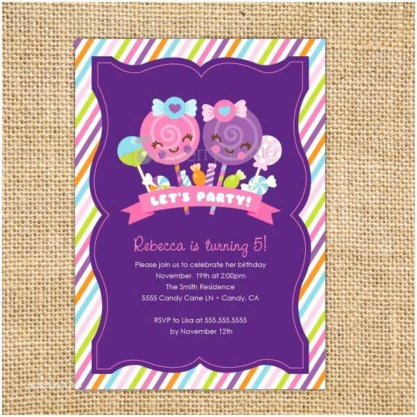Candyland Baby Shower Invitations 69 Best Images About Anniversaire Kawaii On