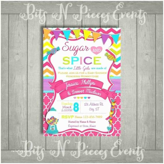 Candyland Baby Shower Invitations Candy Baby Shower Invitation Candy Land Baby by