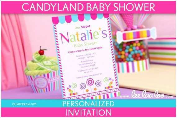 Candyland Baby Shower Invitations Candyland Baby Shower Cake Ideas And