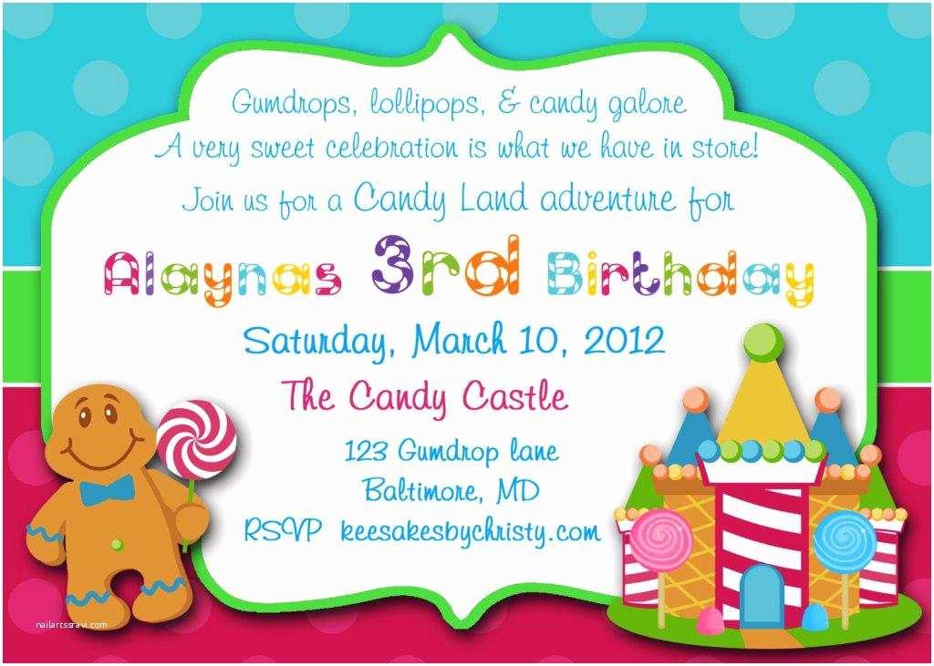 Candyland Baby Shower Invitations Candyland Baby Shower Invitations Party Xyz