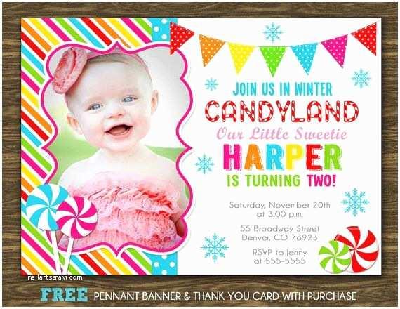 Candyland Birthday Invitations Bridal Shower Invitation Templates Candyland Birthday