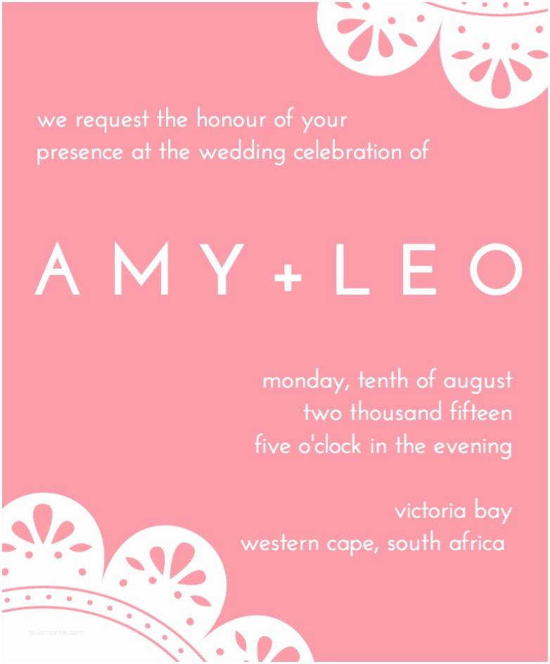 Canva Wedding Invitations Design A Beautiful Custom Wedding Invitation Canva