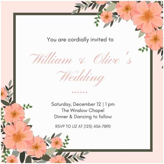 Canva Wedding Invitations Invitation Templates Canva