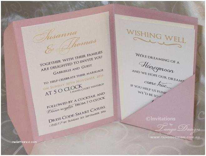 Cards and Pockets Wedding Invitations Pocket Fold Envelopes Bronson Wedding Invitation Large