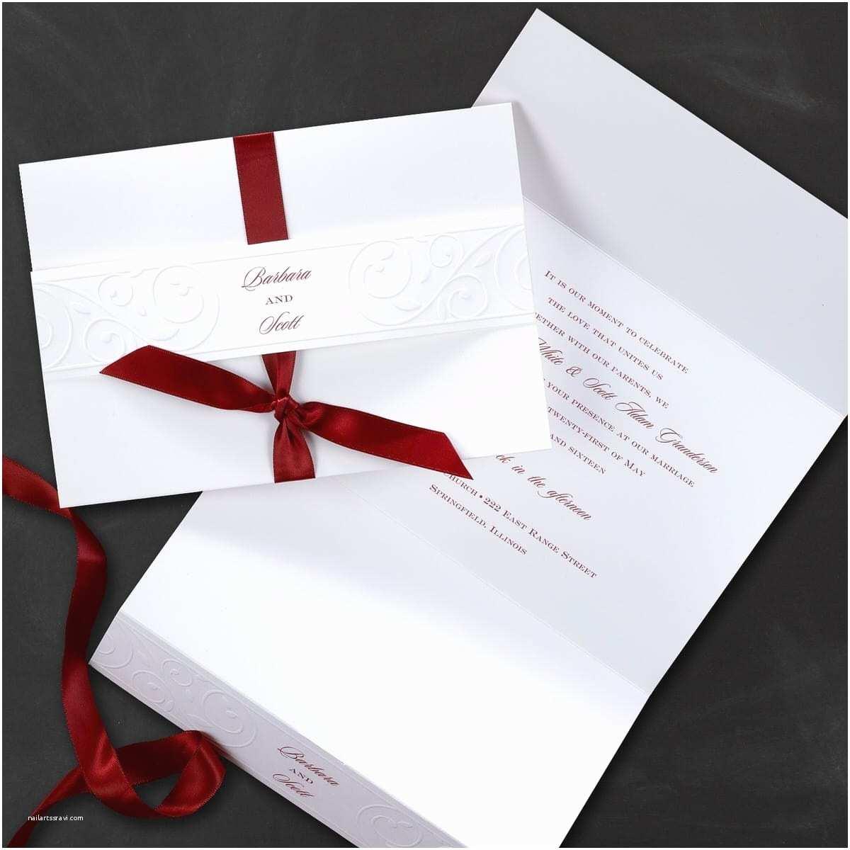 Carlson Wedding Invitations Carlson Craft Pocket Wedding Invitations – Mini Bridal