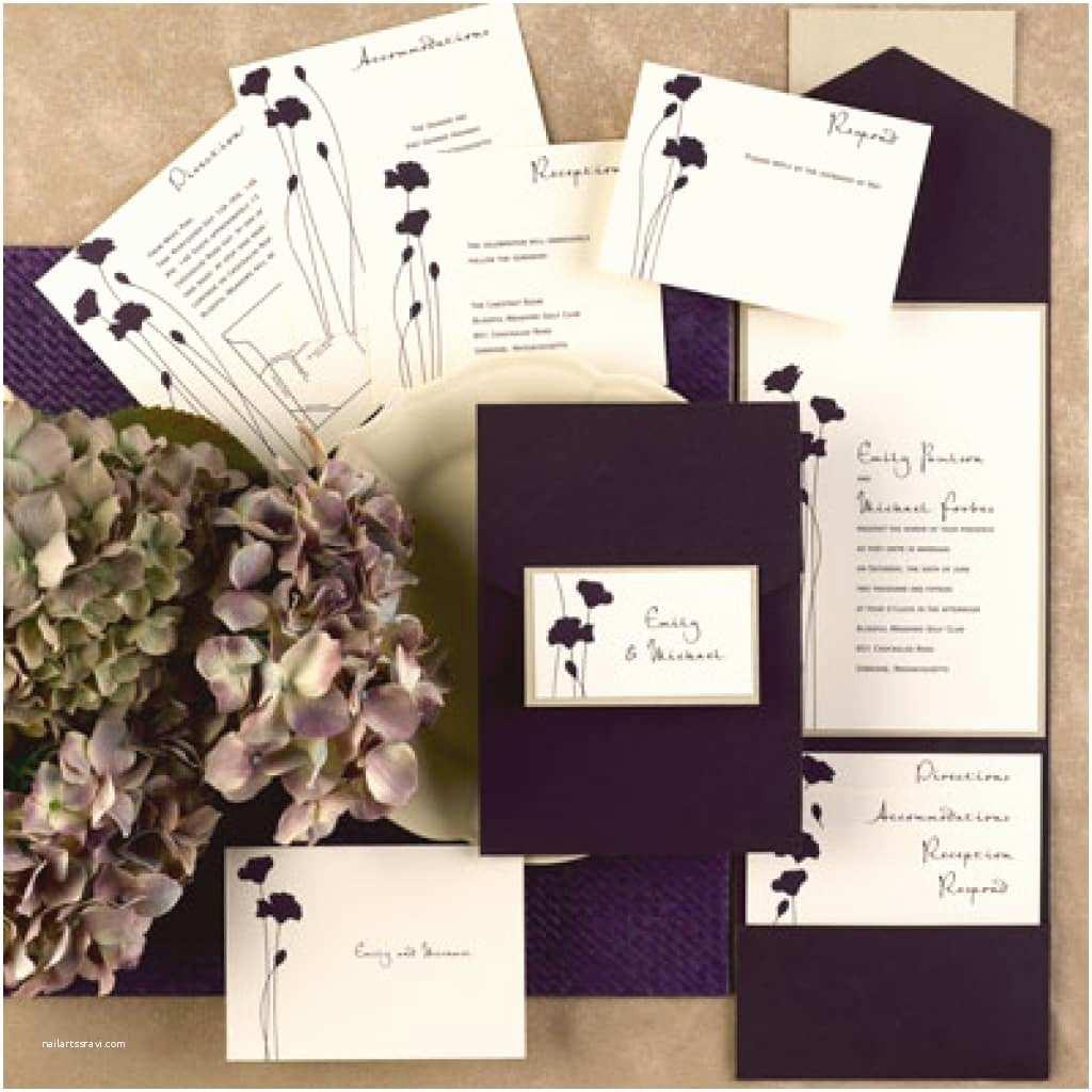Carlson Wedding Invitations Carlson Crafts Wedding Invitations