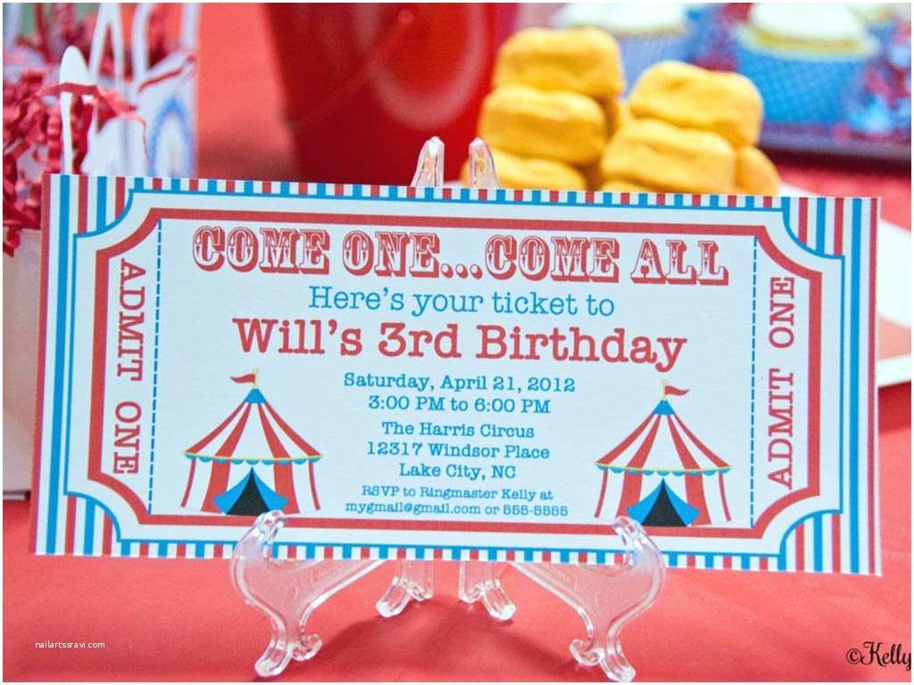 Carnival Birthday Party Invitations Ultimate List 100 Carnival theme Party Ideas—by A