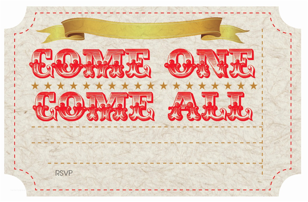 Carnival Party Invitations Free Printable Circus Party Invites Nooshloves
