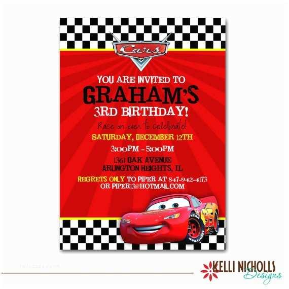 Cars Birthday Invitations Cars Birthday Ideas Pinterest Roundup