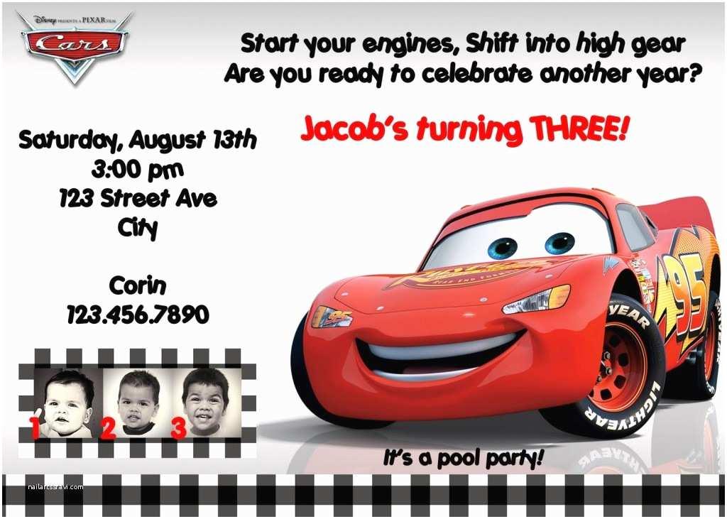 Cars Birthday Invitations Cars Birthday Invitations Ideas – Bagvania Free Printable