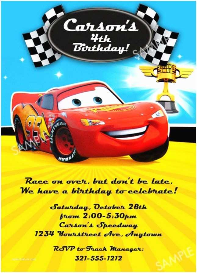 Cars Birthday Invitations Cars Birthday Party Invitation Wording