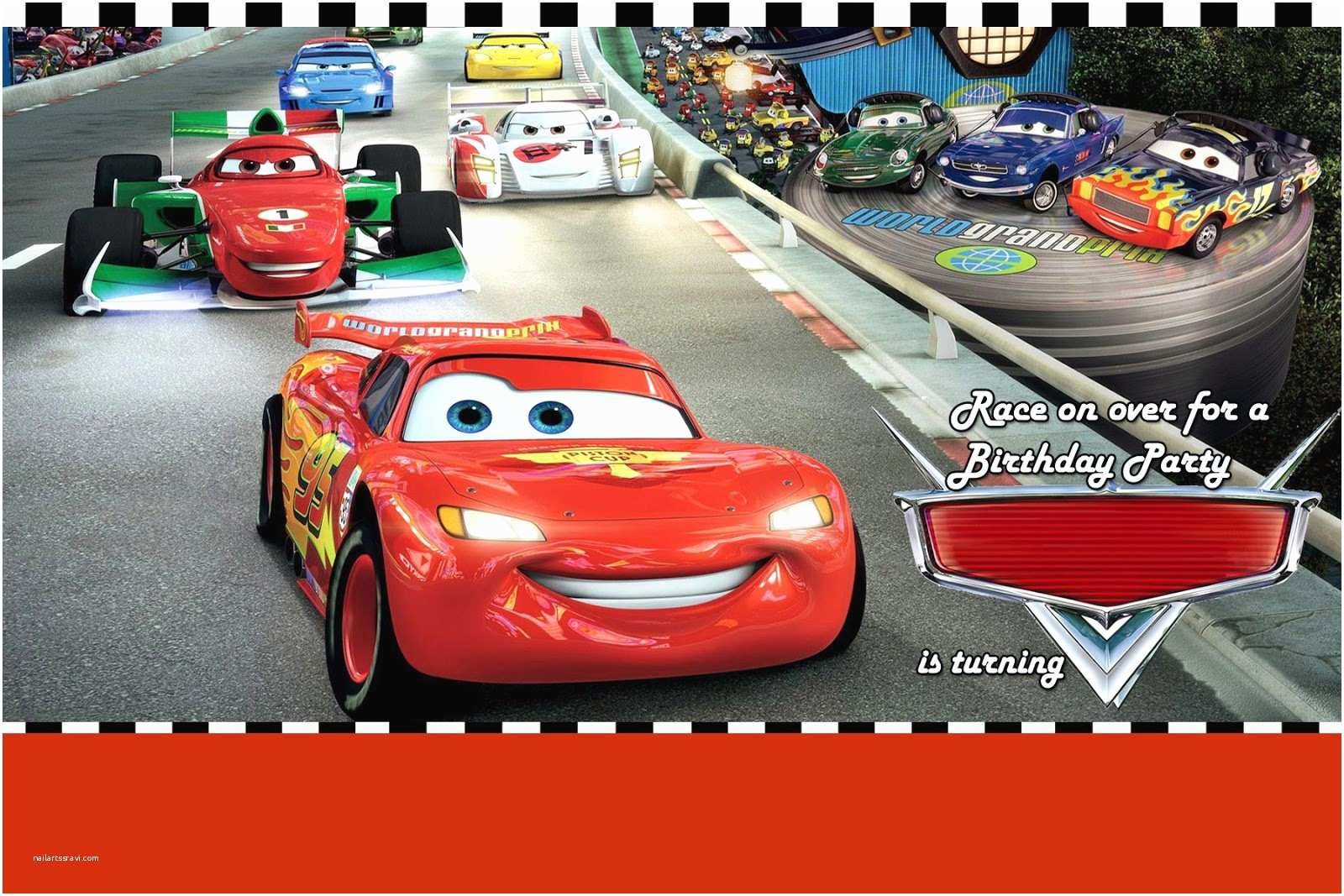 Cars Birthday Invitations Disney Cars Birthday Party For Your Boy — Criolla