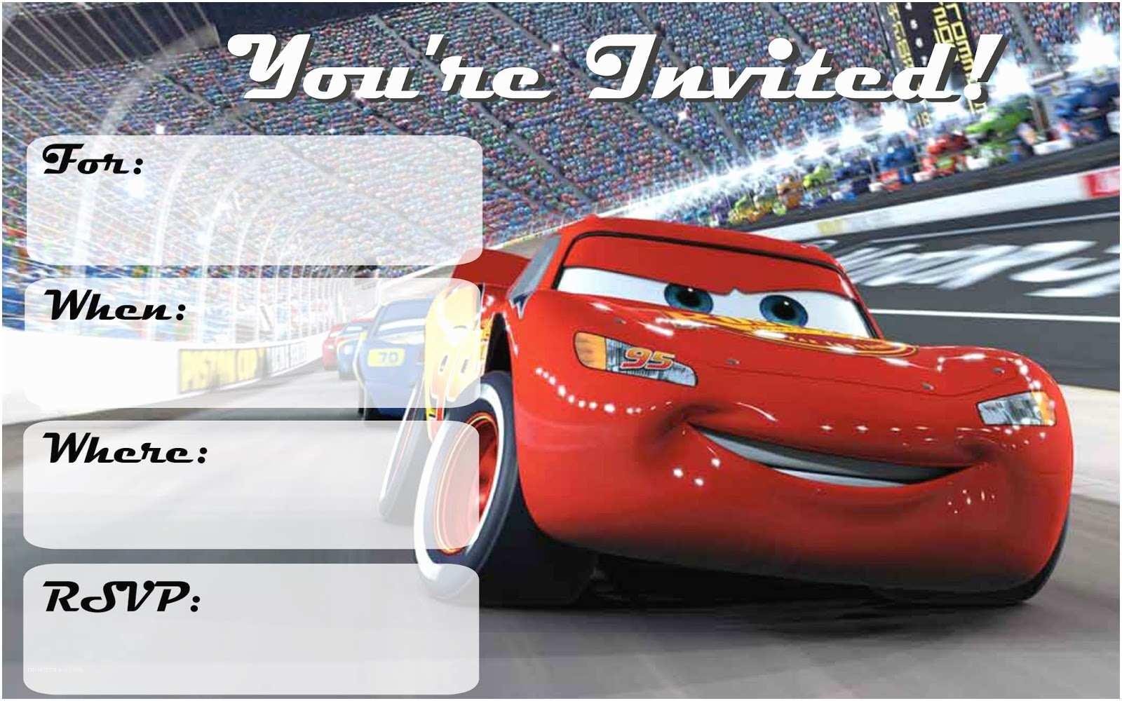 Cars Birthday Invitations Musings Of An Average Mom Cars 3 Free Printable Invitations