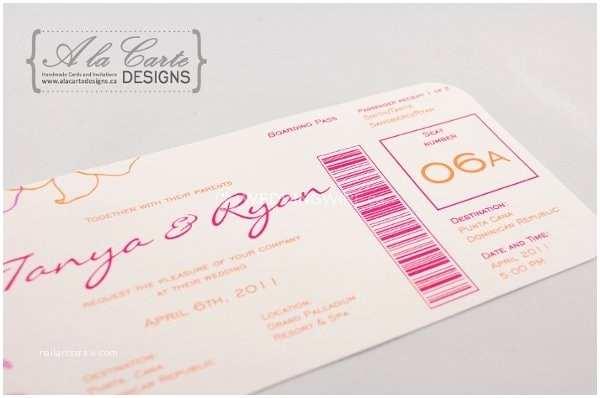 Carte Blanche Design Wedding Invitations A La Carte Designs