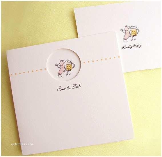 Carte Blanche Design Wedding Invitations Bride