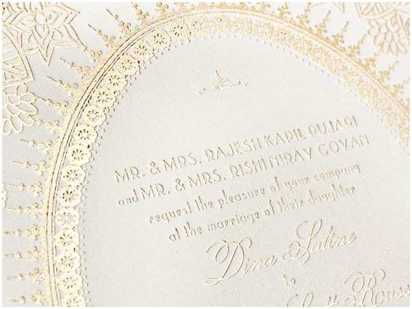 Carte Blanche Design Wedding Invitations Moulin Rouge Inspired Red Gold Foil Wedding Invitations