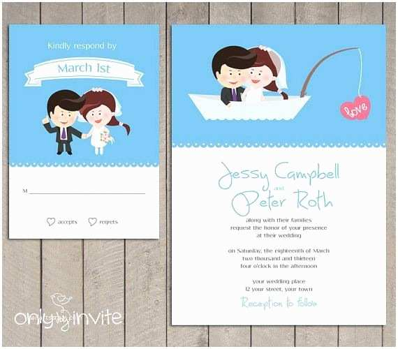 Cartoon Wedding Invitations Online 15 Funny Wedding Invitation Cards