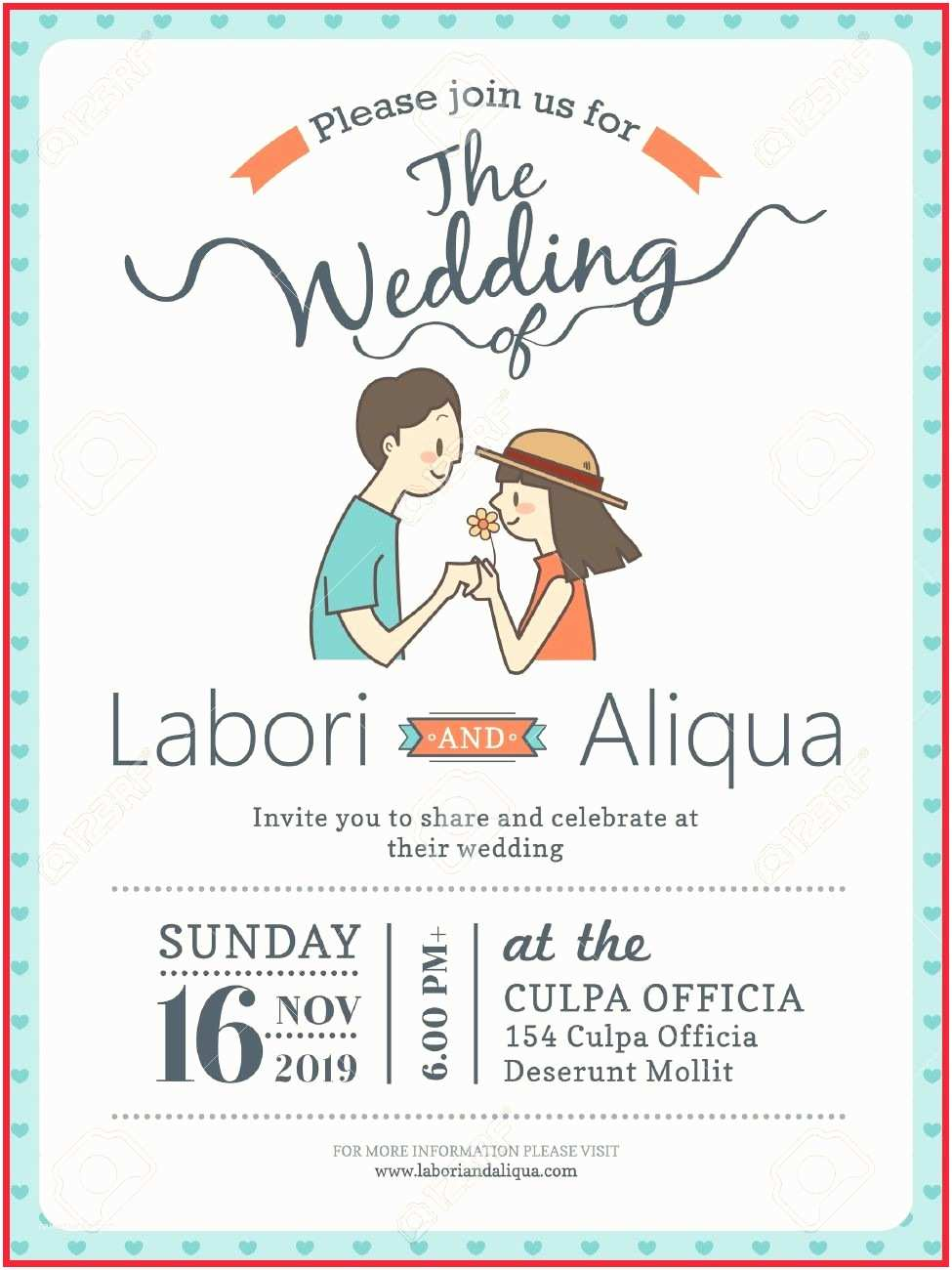 Cartoon Wedding Invitations Online Awesome Cute Wedding Invitations Gallery Wedding
