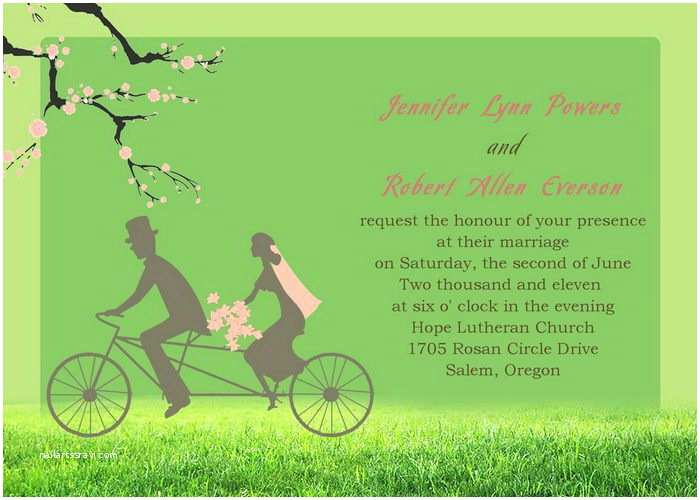 Cartoon Wedding Invitations Online Funny yet Adorable Cartoon Wedding Invitations Iwi034