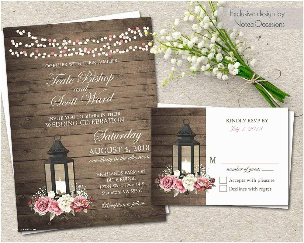 Cash Preferred Wedding Invitation Notedoccasions · Ruffled