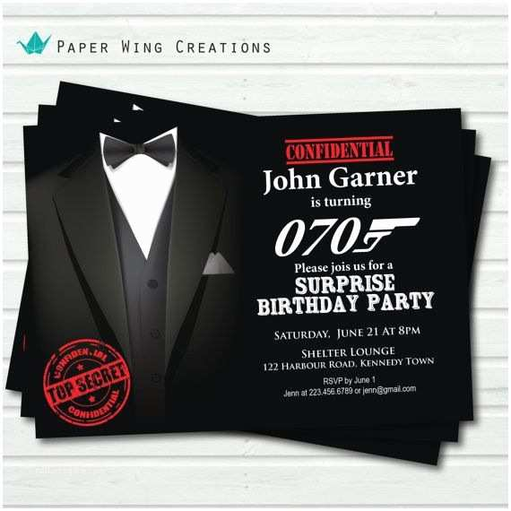 Casino Party Invitations 25 Best Ideas About James Bond Party On Pinterest