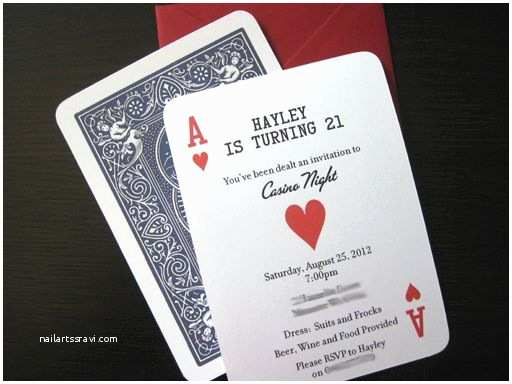 Casino Party Invitations 35 Best Invitation Ideas for Casino Nights Images On