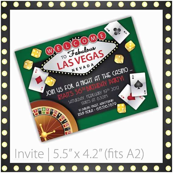 Casino Party Invitations Casino Party Invitations Lucky Draw by Blackcherryprintable