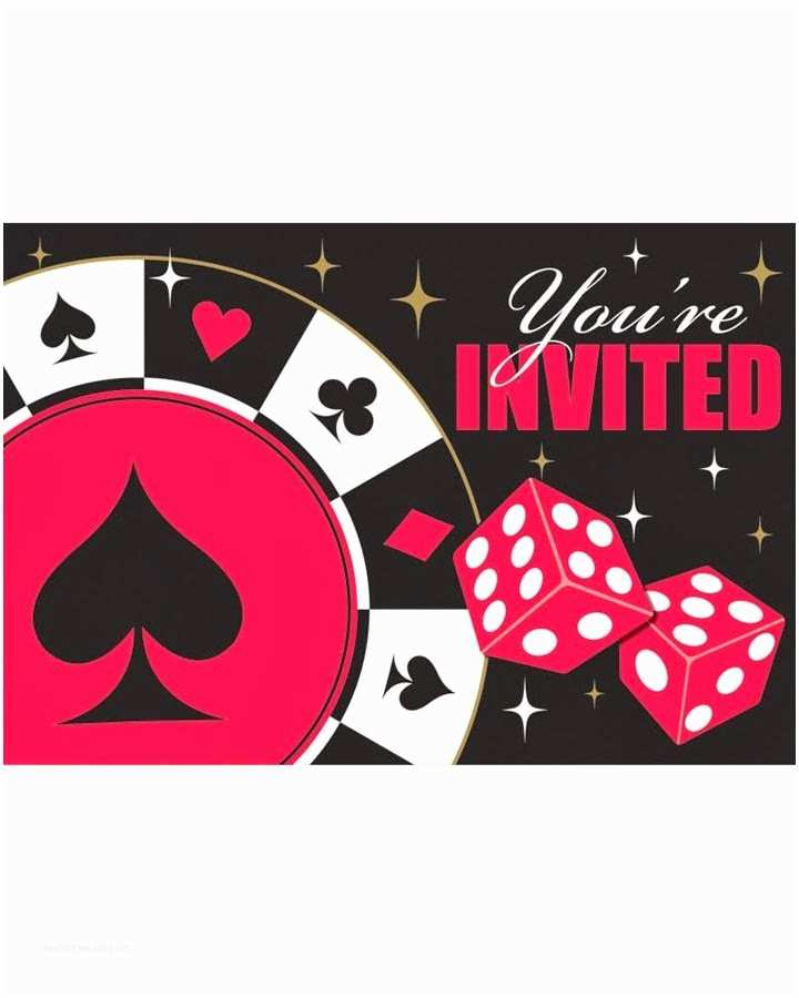 Casino Party Invitations Inside the Costume Box How to Host A Vegas Casino Party