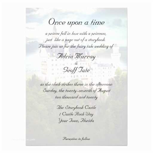 33 Castle Themed Wedding Invitations