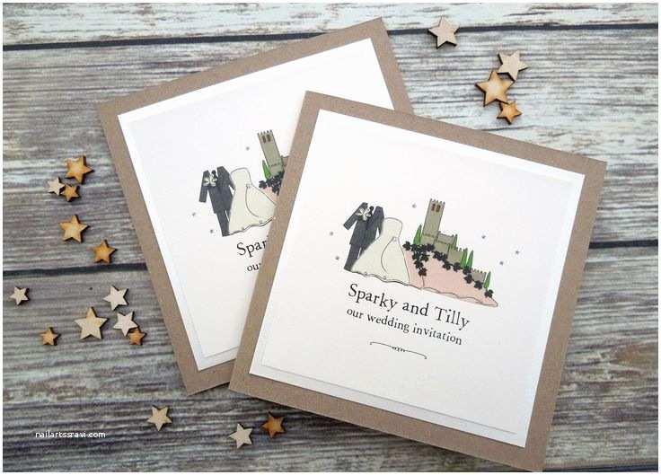 Castle Wedding Invitations 42 Best Ideas About Malcesine Castle Wedding Stationery On