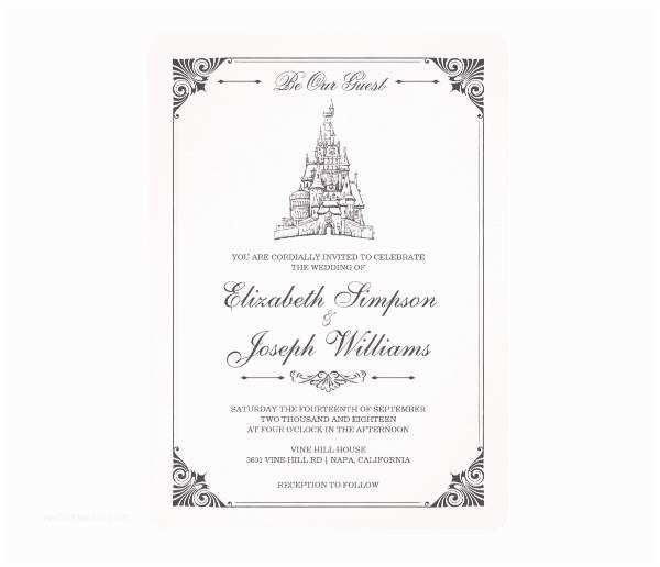 Castle Wedding Invitations 75 Wedding Invitations In Psd
