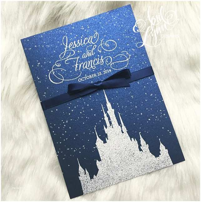 Castle Wedding Invitations Design Wedding Invitation Templates Disney themed Wedding