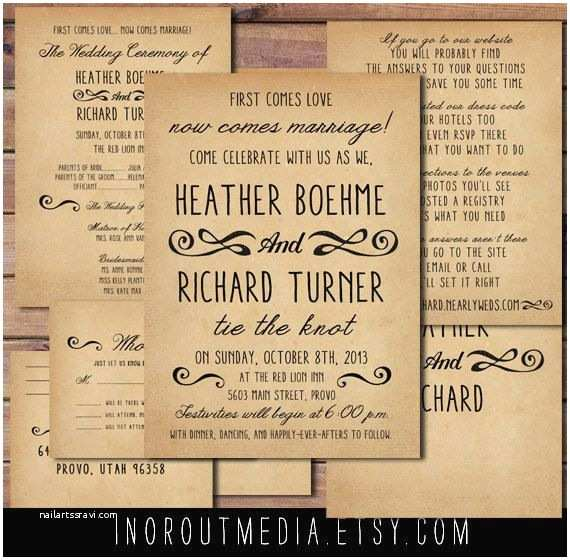 Casual Wedding Invitation Wording 1000 Ideas About Casual Wedding Invitations On Pinterest